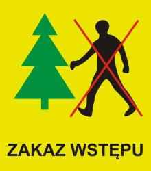 Zakazy wstępu do lasu